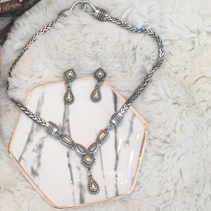 Rare Vintage Retired Brighton Necklace & Earrings